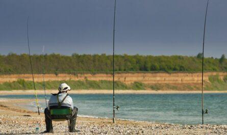 Křesla pro rybáře přináší maximální komfort.